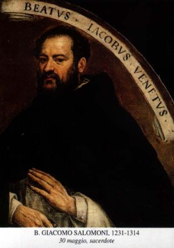 blaženi Jakob Salomon - duhovnik in redovnik