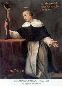 blaženi Mannes (Manno) Guzman - redovnik in duhovnik