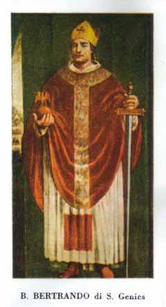 blaženi Bertrand Oglejski - škof in mučenec