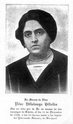 blažena Maria della Colonna (Pilar) Villalonga Villalba