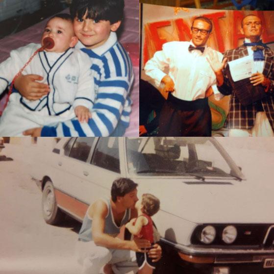 Mio fratello, zio Gino e l'amico Gigi