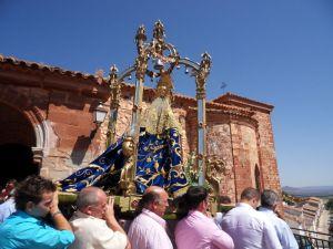 Procesión Claustral 15 agosto Asunción Virgen del Collado 2009