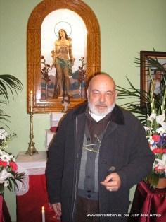 Nuestro reportero Juan José Armijo