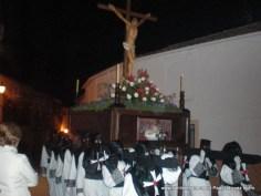 Cruz Guía de la procesión de la Virgen de los Dolores, San Juan Evangelista y Jesús de la Caída