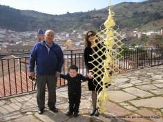 Juan Miguel, su esposa Carmen y su nieto.