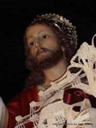 Talla de Jesús en La Borriquilla