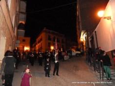 Banda de los Nazarenos en la Calle Joaquín Mercado
