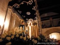 Tallas dentro de la ermita