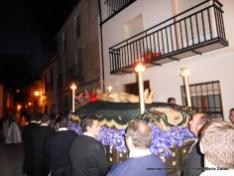 Hortelanos procesionando a Cristo Yacente