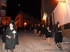Mujeres de mantilla negra española