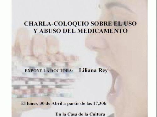 Charla sobre uso y abuso del medicamento, 30 abril 2012