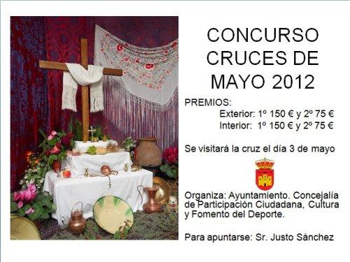Cartel Concurso Cruce de mayo 2012