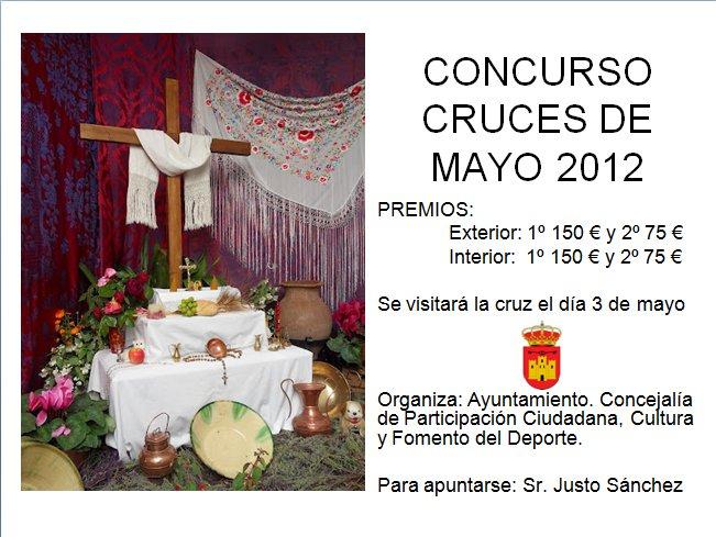 Cartel Concurso Cruces de mayo 2012