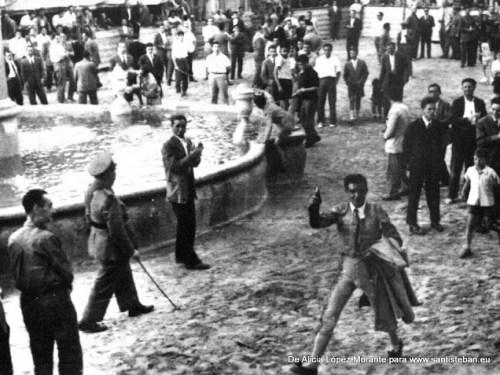 Vuelta al ruedo, Santisteban, años 50, con Gonzálo Morante, municipal.