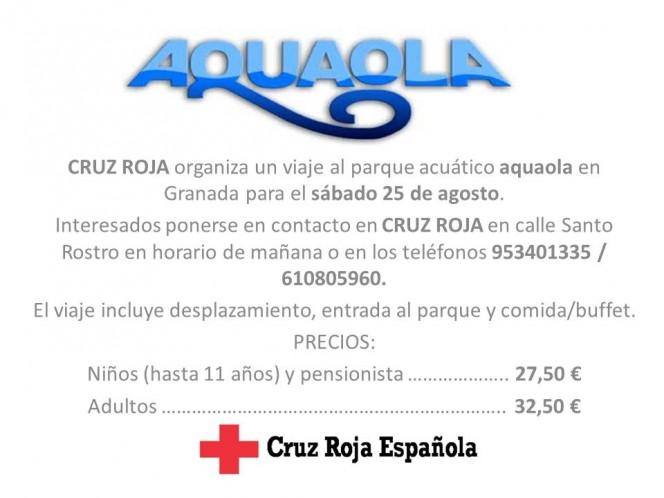 Cruz Roja Viaje Aquaola 2012