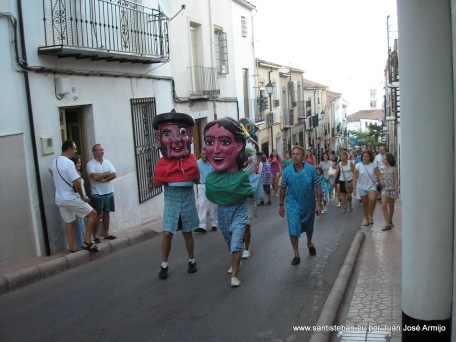 Cabezudos 15 de agosto 2012 por Juanjo Armijo