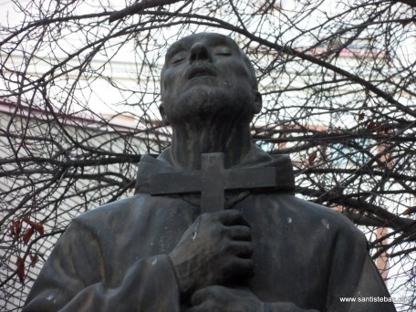 San Juan de Dios, en los jardines del Hospital Gregorio Marañón, Madrid.