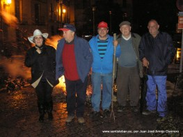 Amigos de San Antón, 2013. ¡Como en familia!