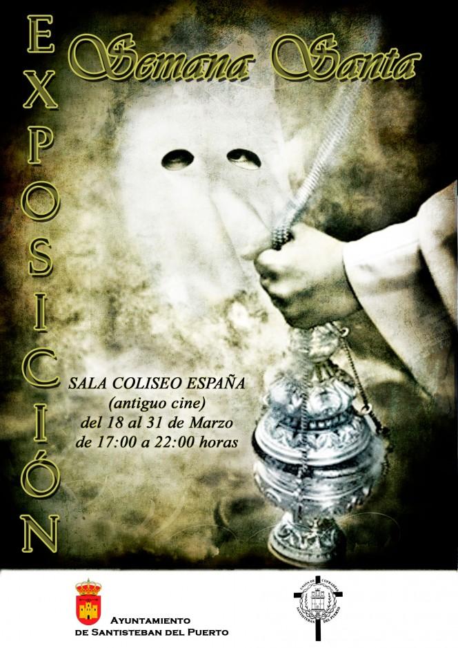 Cartel Exposición Semana Santa Santisteban 2013