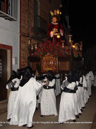 Tercer Premio del II Concurso Fotografía Semana Santa Santisteban, Juan M. Cano. Fotografía 41.
