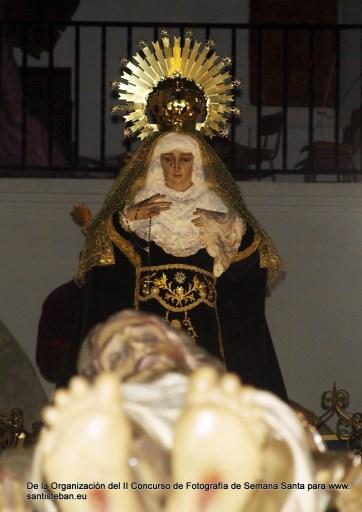 Segundo Premio II Concurso Fotografía Semana Santa Santisteban, Emilio Fuentes. Fotografía 83.