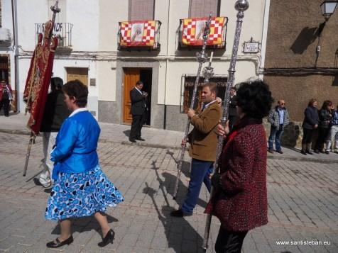 Abriendo la procesión