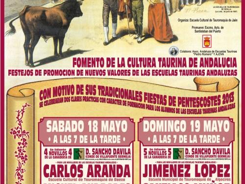 Espectáculos taurinos Santisteban del Puerto Pascuamayo 2013