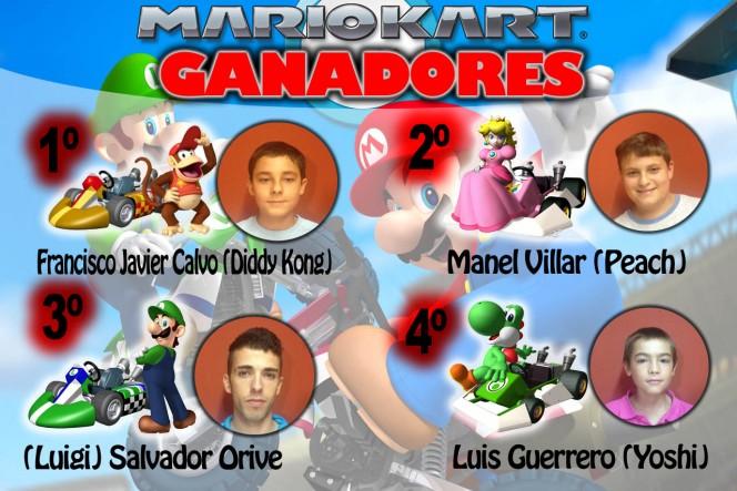 Ganadores Torneo de Videojuegos 2013, Mario Kart