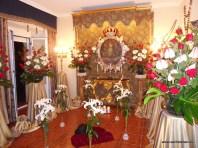 Cuadro de la Virgen en la Mayordomía la noche de los mayos