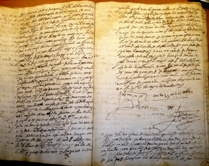 Acta Cabildo 1590 (II)