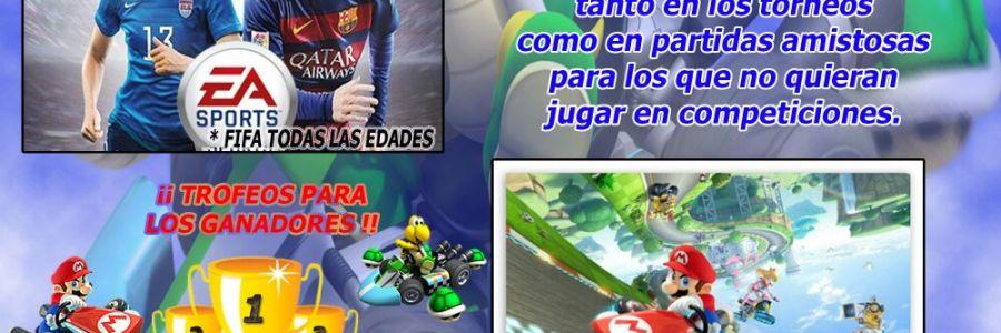 Cartel VI Campeonato de Videojuegos