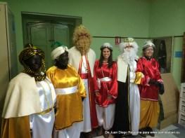 Sus majestades los Reyes Magos y los pajes reales de Santisteban