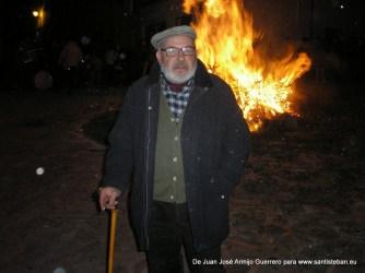 Nuestro reportero Juanjo Armijo