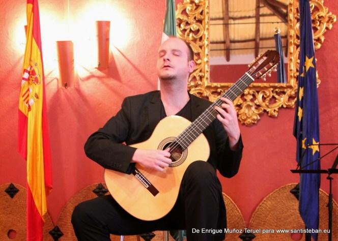 Ivan Petricevic, primer premio. XV Concurso Internacional de Guitarra Clásica Comarca El Condado.