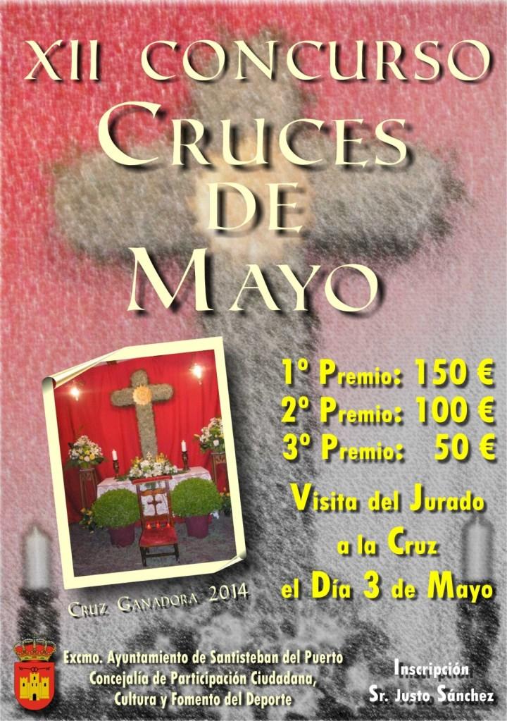 Cartel del XII Concurso Cruces de Mayo