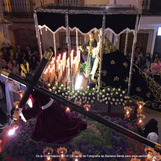 Tercer Premio del III Concurso Fotografía Semana Santa Santisteban, Juan Francisco Álamo. Fotografía 26.