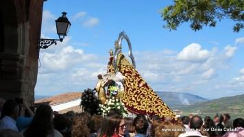 Nuestra señora del Collado hacia la Ermita.