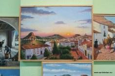 Paisajes y otros óleos de Juan Manuel Soriano