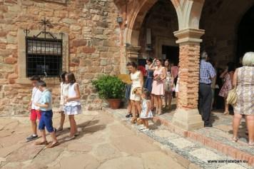 Niños, mozos y mozas de la Mayordomía