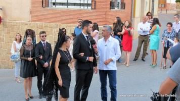Mozos siendo entrevistados por Modesto Barragán de Andalucía Directo