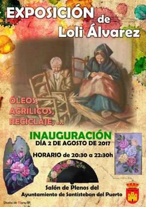 Exposición Loli Álvarez 2017