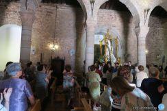 Incio de la Procesión Claustral por la Natividad de la Virgen