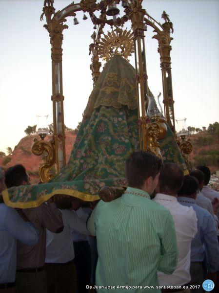 Procesión claustral Festividad del Rosario - Virgen del Collado