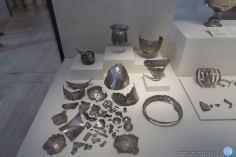 Trozos de plata del tesoro de Perotito