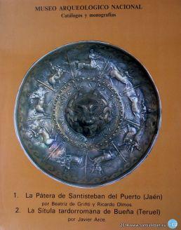 Estudio sobre la Pátera de Santisteban por Beatríz de Griñó y Ricardo Olmos