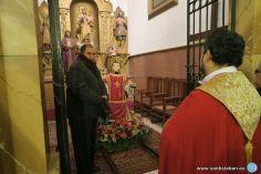 Réplica de la Imagen de San Esteban en su ubicación definitiva