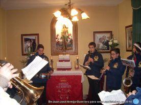 Banda de música tocando a San Sebastián