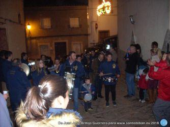 Banda de Música en la fiesta de San Sebastián