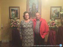 Cati y Francisco, anfitriones de la fiesta
