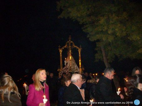 Fiesta de la Candelaria en Santa María. Procesión Claustral